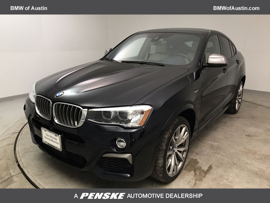 Certified Pre-Owned 2017 BMW X4 M40i Sports Activity