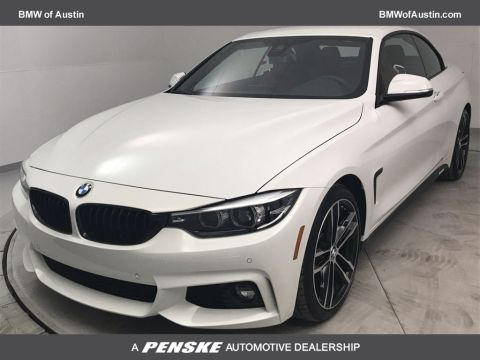 New 2020 BMW 4 Series 430i Convertible